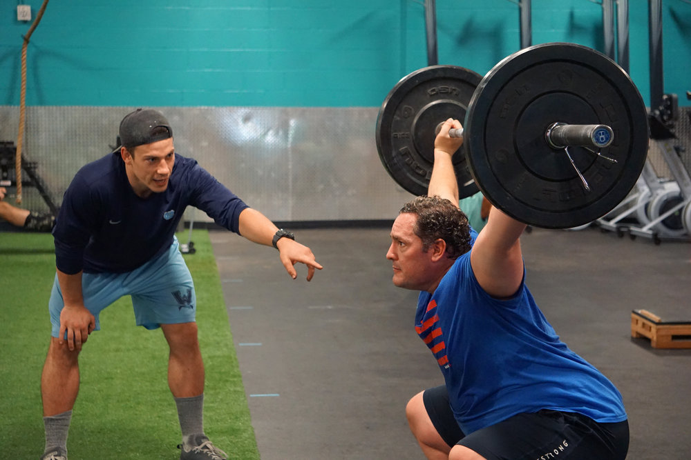 Foundations - While some athletes are ready to get right into our levels programs, for many new athletes a small group or 1-1 class is the best method of learning quality movement mechanics. FOundations is three 45 minutes sessions in which Coaches provide a COMPREHENSIVE overview of essential movement patterns.