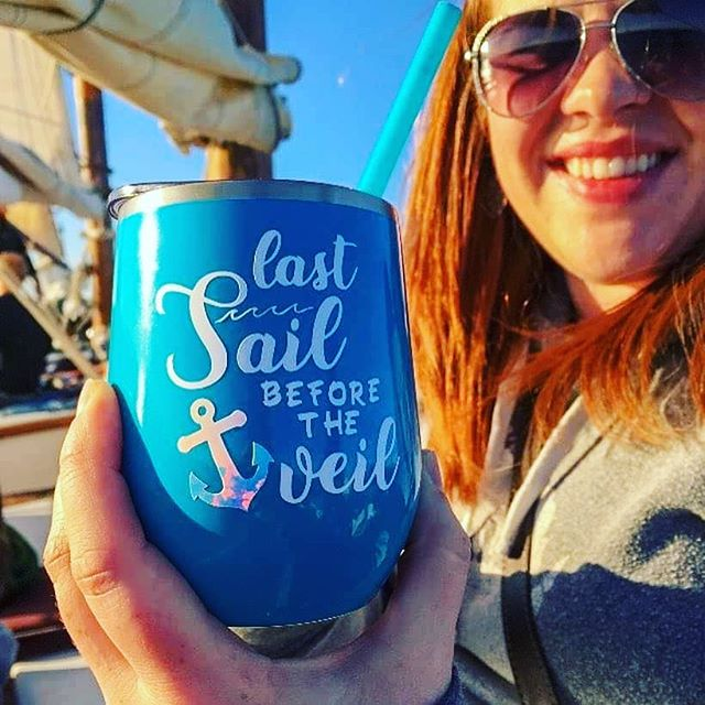 Sail into a great time aboard The Edith M. Becker.  We are now booking bachelorette and bachelor parties for 2019.  #DoorCounty #DoorCountyWedding #BachelorettePartyIdeas #sailboatwedding #summervibes #SailDoorCounty #SummerBachelorette #LastSailBeforeTheVeil #lastsailbeforetheveil⚓️