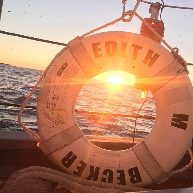 #TBT  To a beautiful summer sunset sail. We can't wait to get you out on the water.  We are currently booking 2019 & 2020 Private Charters for your family outing, wedding, birthday parties, anniversary or bachelorette parties.  #☀️ #SunsetSail #DoorCounty #SailDoorCounty #PrivateSail #SummerSailing #Summer #SummerVibes #☀️🌊 #PrivateCharter #privatecharters #Sailing #SailingLife #Sailing⛵ #SailingTime