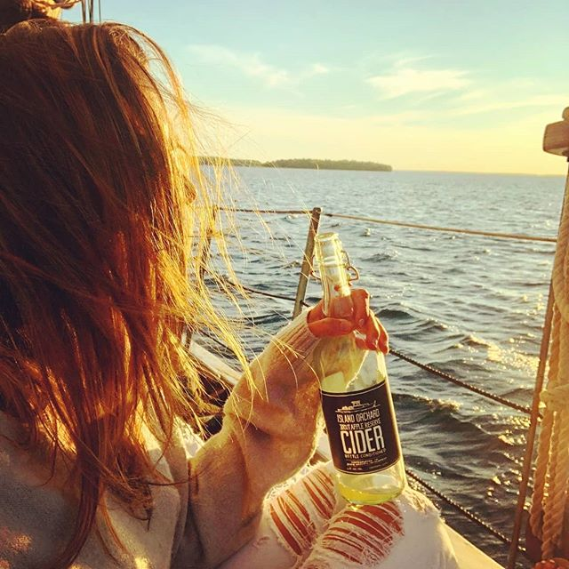 The snow is melting and more rain is in the forecast. That means we are getting closer to sailing.  Get your crew together and book an amazing sailing adventure today!  #Repost @lindsaygrace #DoorCounty #Sailing #HappyPlace #SailingAdventure #AdventureAwaits #SummerVibes #SeeYouSoon #SunsetSailing #Sunset #DoorCountySunset • • • • • A girl, a bottle, a boat. 😉 . Thank you @doorcounty for the amazing gift certificate! We used it to do something we've been wanting to do for years now - go sailing with @saildoorcounty !