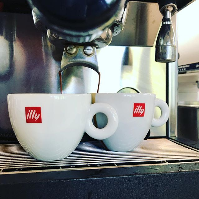 Coffee time! I love my espresso. #illy #cappuccino #bliss