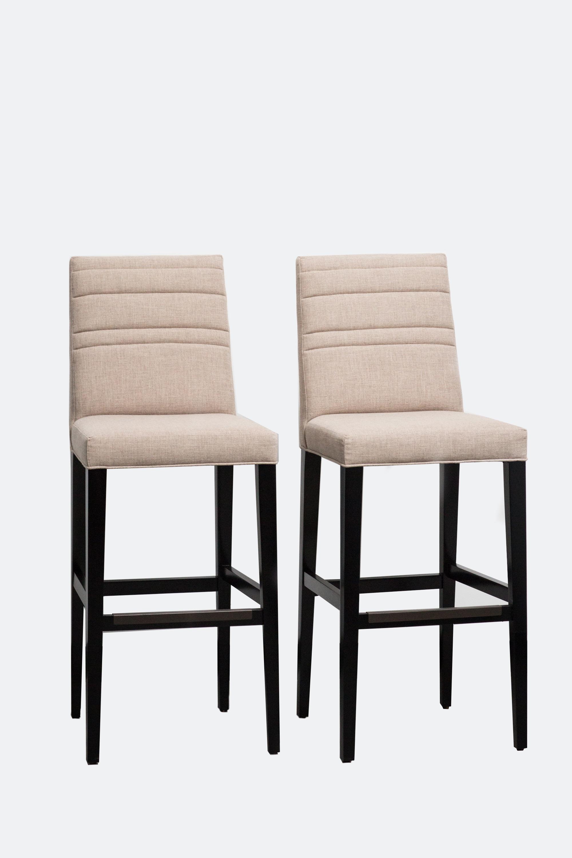 Upholstered Barstools U2014 Set Of 2