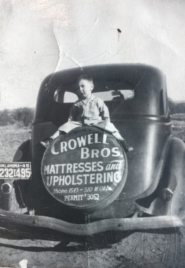 Alton Crowell, Founder, 1946 (age 3)