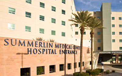 Summerlin Medical Center Hospital  657 N Town Center Dr, Las Vegas, NV 89144