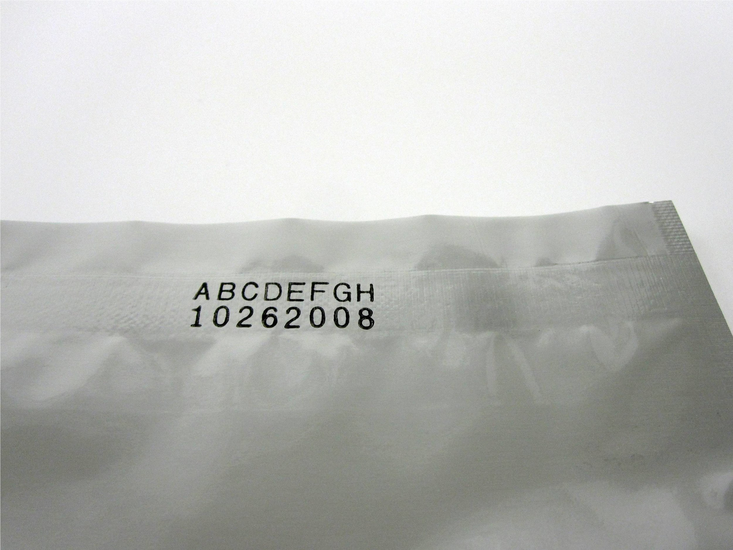 Dry Ink coding Example - 18PT Font