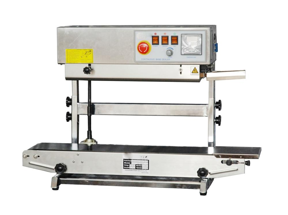 """ertical continuous band sealer seal width – 8mm (0.31"""") 15mm option"""