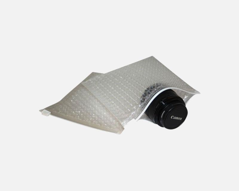 Clear Slider Cushion Zipper Pouch