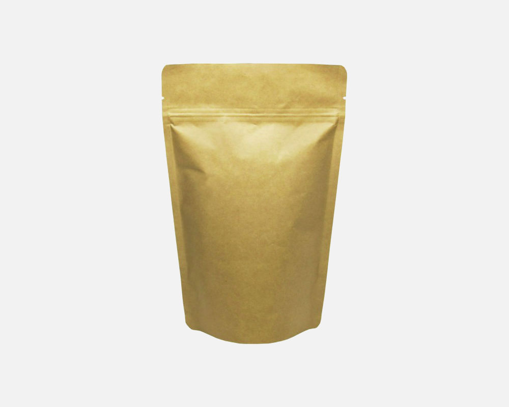 12oz (340g) Stand Up Zip Pouch