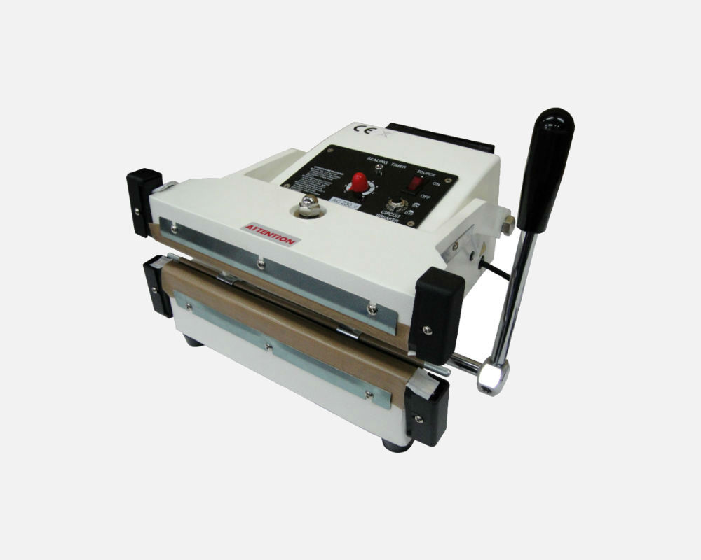 "10"" Hand Press Double Impulse Sealer"