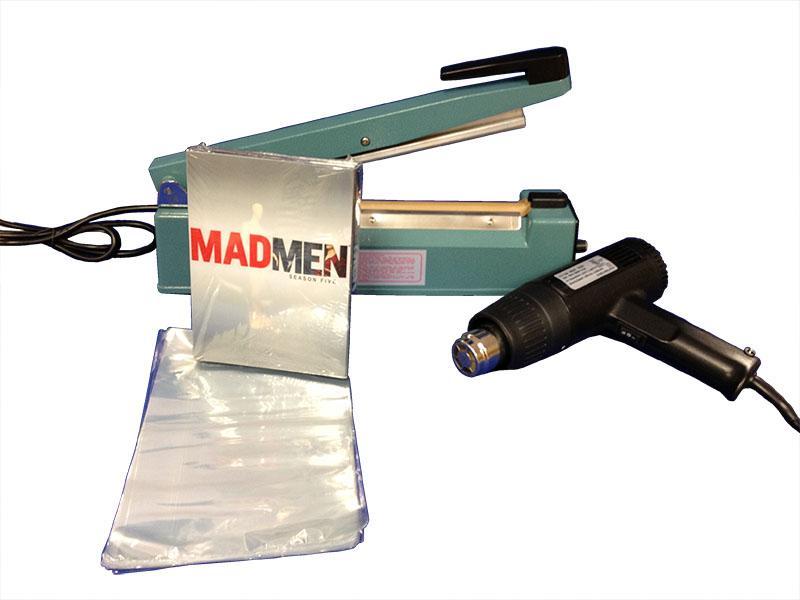 "12"" Hand Sealer w/ DVD Shrink Bags"