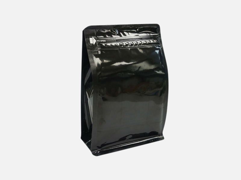 16oz (450g) Square Bottom Bag w/ E-Zip