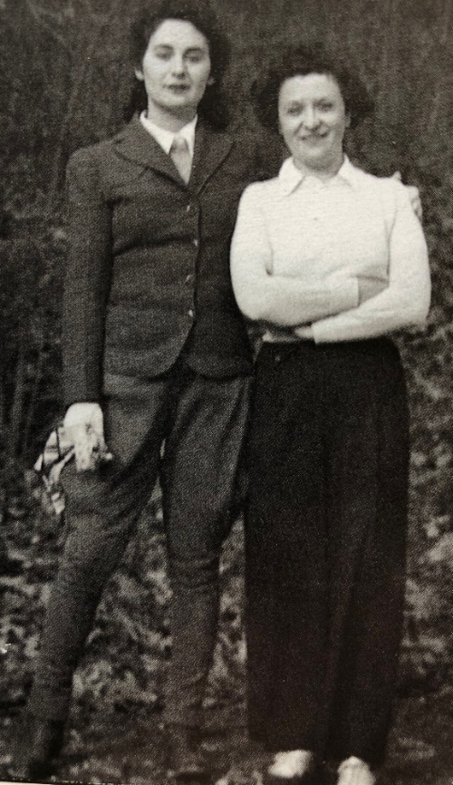 June Wayne and Her Mother