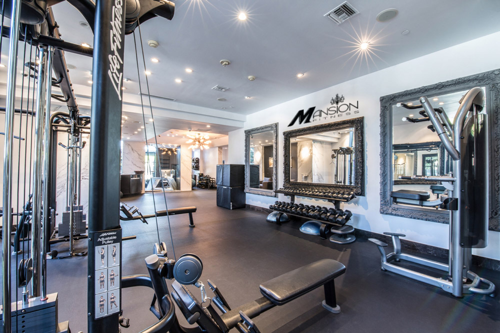 The gym by mansion fitness u west hollywood historic hotel