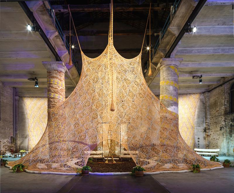 """Pavilion of the Shamans, installation by Ernesto Neto"", Photo: Andrea Avezzù. Courtesy: La Biennale di Venezia, [available],chromart.org."