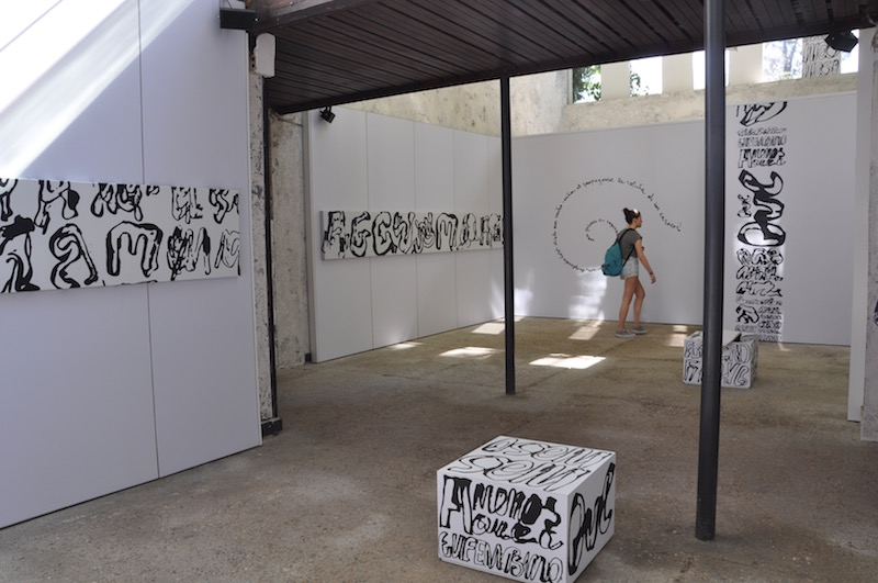 """""""Formas Escapandose del Marco by Juan Calzadilla"""" Venezuelan pavilion, Venice Biennale 2017, photocredits Anna Gargarian"""