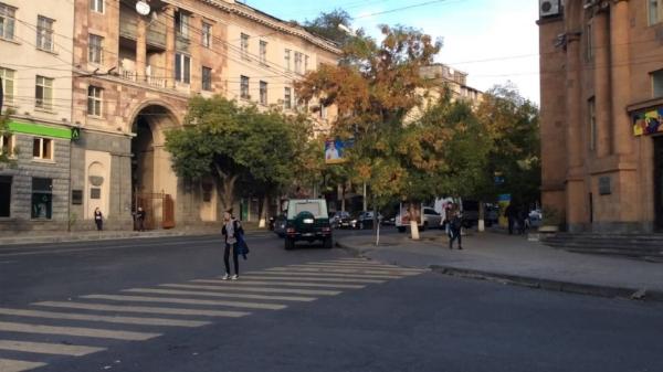 Byron street, Yerevan, Armenia