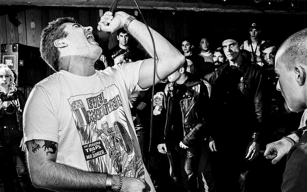 Peacebreakers, Pure Disgust, Praise, Free at Last, Stuck Pigs, Wild Side, Abuse of Power - Hardcore Stadium. Cambridge, MA. December 2, 2016