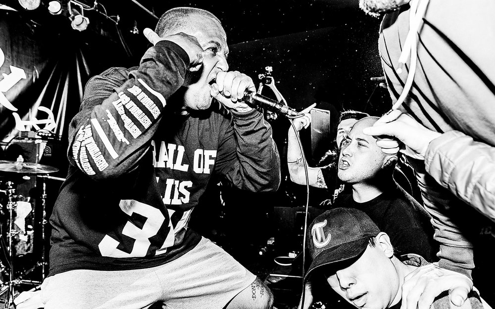 Buried Alive, Trail of Lies, Clear Focus - Mohawk Place. Buffalo, NY. December 29, 2017