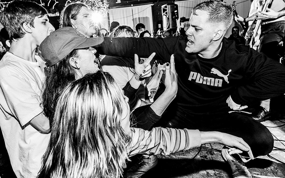Trapped Under Ice, No Warning, Krimewatch, Wisdom In Chains, One Step Closer - West Side Club. Nanticoke, PA. February 9, 2018