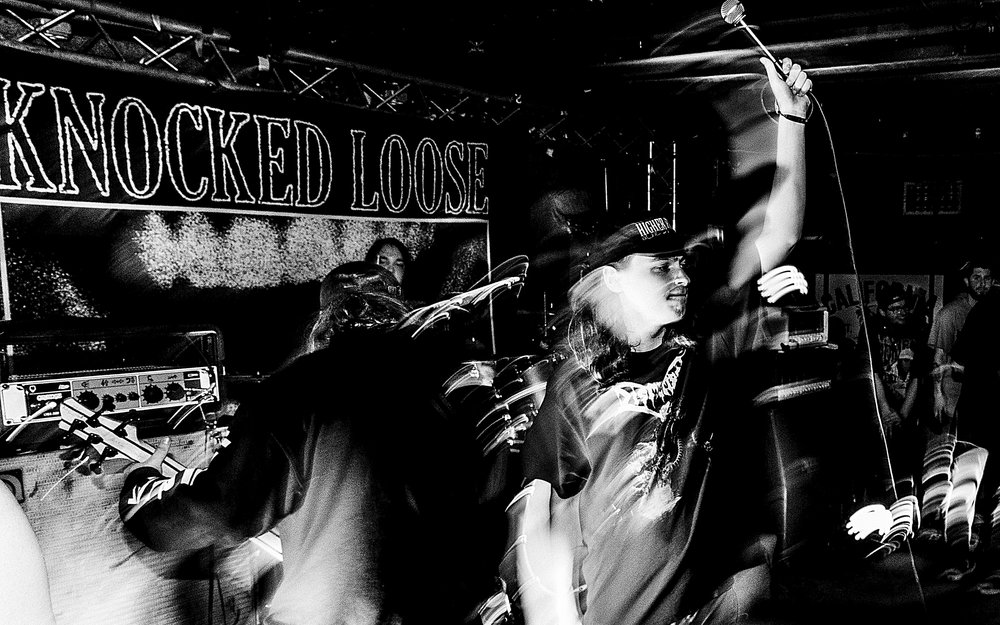 Knocked Loose, Terror, Jesus Piece, Year of the Knife, I Disappear - California Brew Haus. Rochester, NY. March 29, 2018