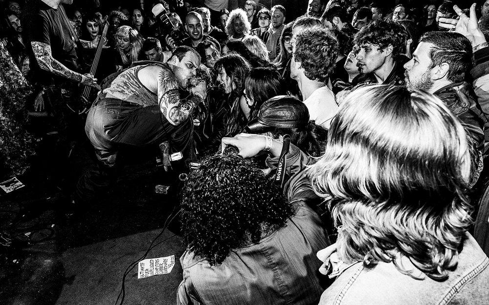 L.O.T.I.O.N, D.O.C - The Black Cat Backstage. Washington, DC. April 7, 2018