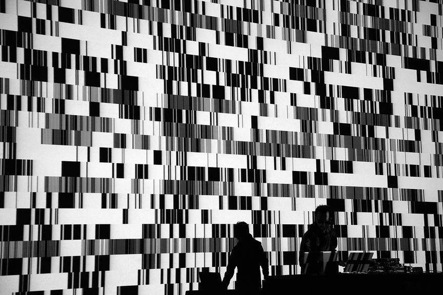 Ryoji Ikeda: Test Pattern