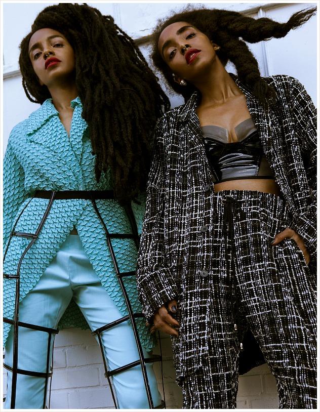 Cipriana Quann & TK Quann FGUK Magazine