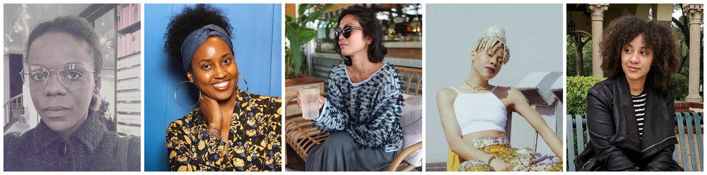 IBADA WADUD   |   JANINE HAUSIF   |   JENNIFER NINI   |   JENNIFER NNAMANI   |   KATHERINE PRUETT