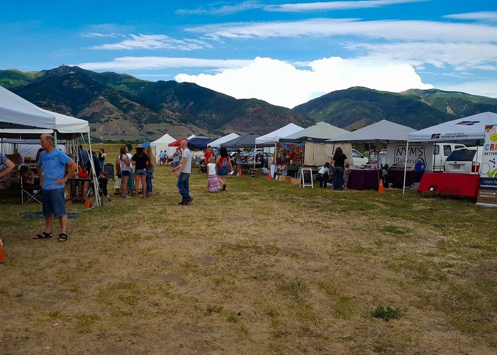 Photo c/o USU Extension Farmers Market