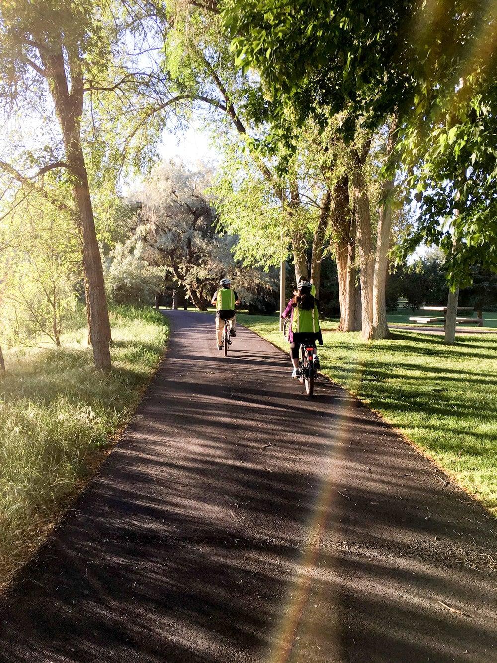 explore downtown salt lake city by bike