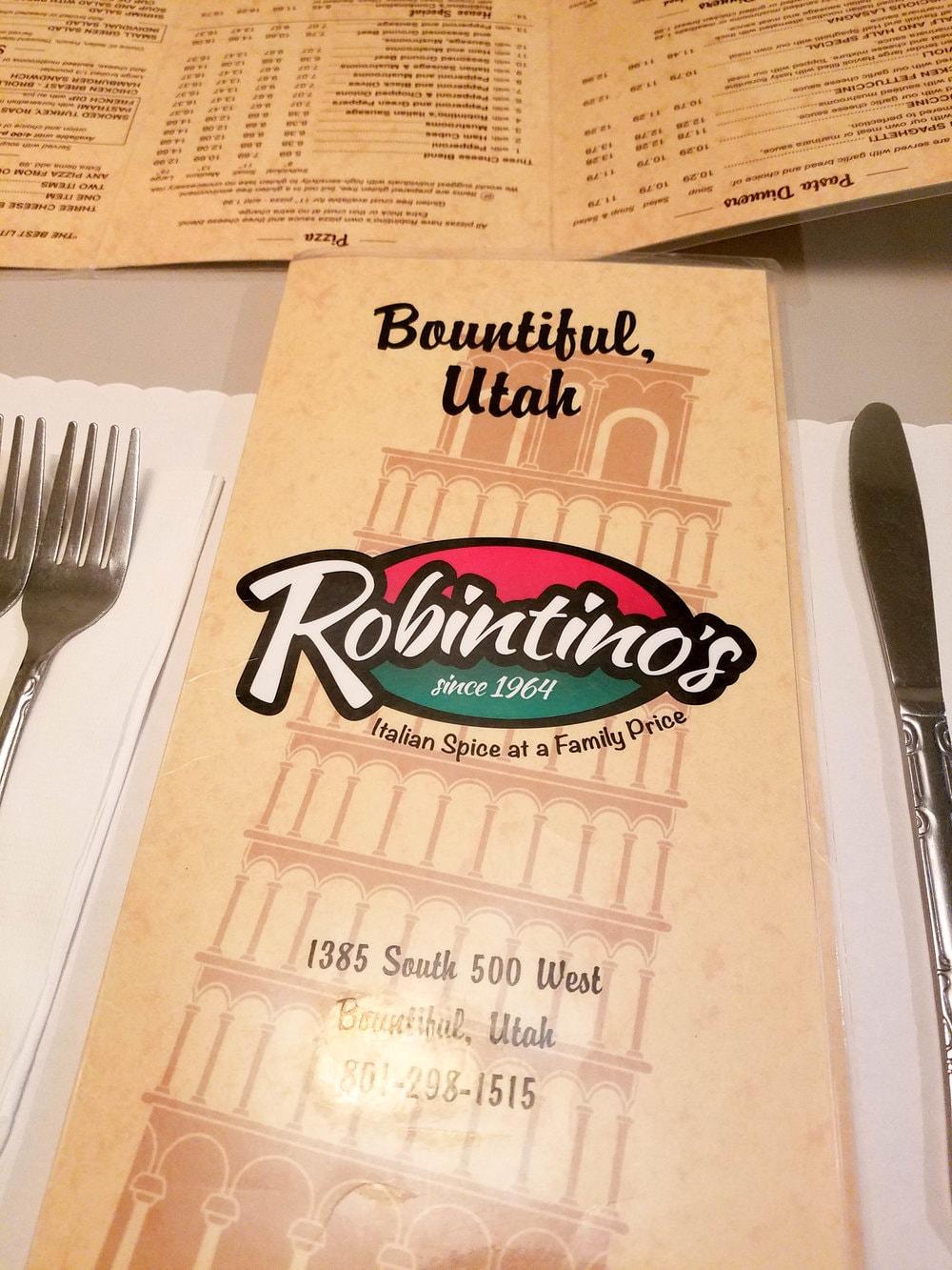 Robintino's Italian Restaurant - Bountiful Utah