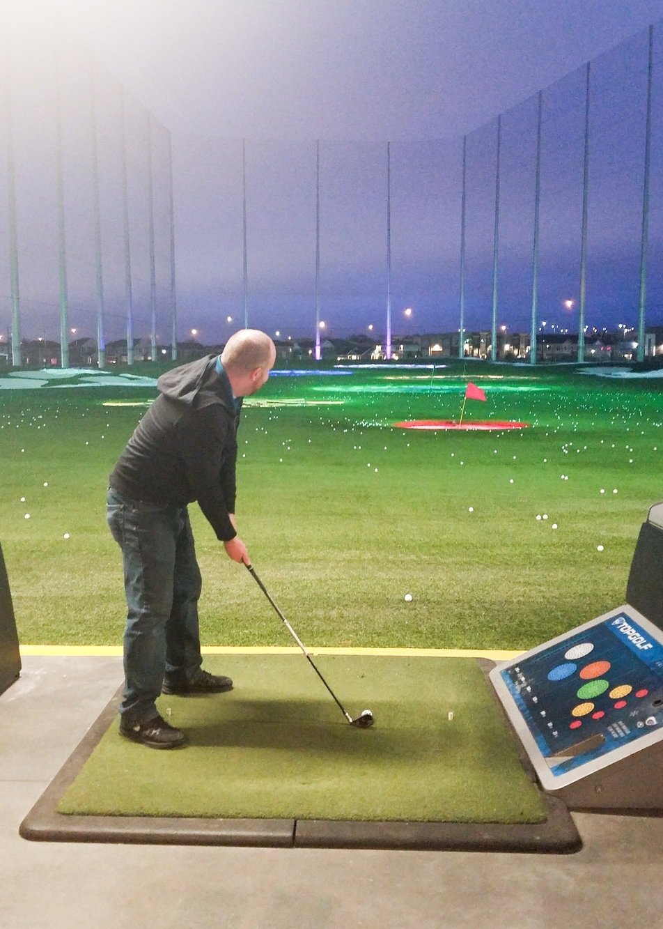 Date Night at Top Golf