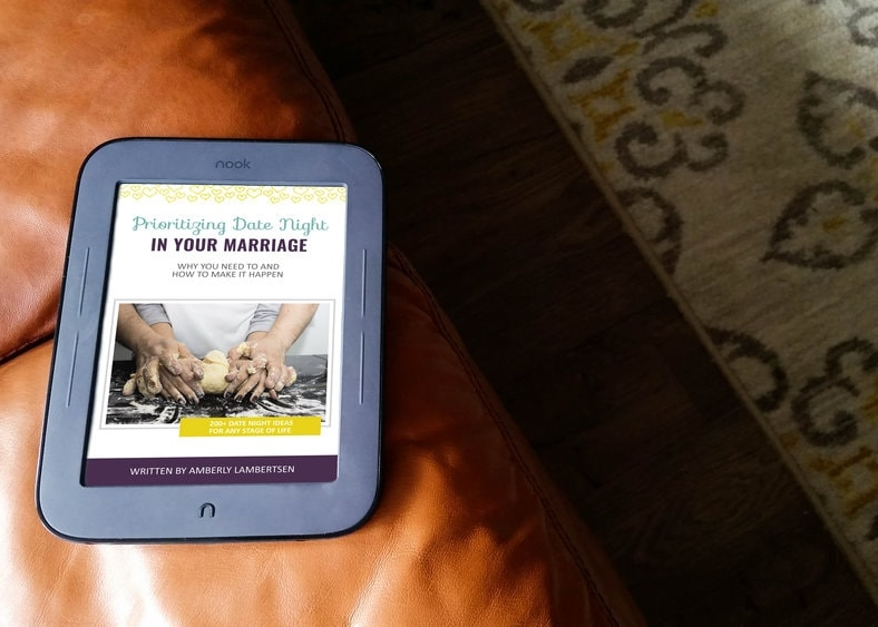 Prioritizing Date Night in Your Marriage - Ebook