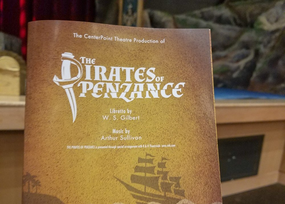 Pirates of Penzance at CenterPoint Legacy Theatre