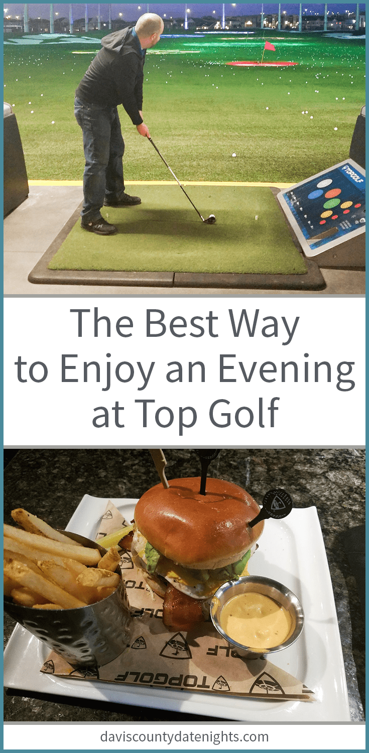 The best way to enjoy an evening date night at Top Golf in Salt Lake City, UT
