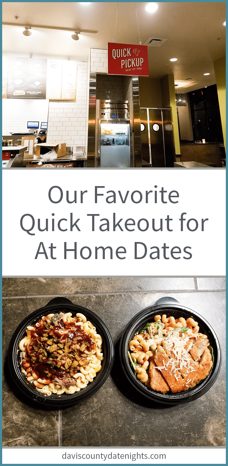 Fast and delicious takeout for date night at home in Farmington, UT