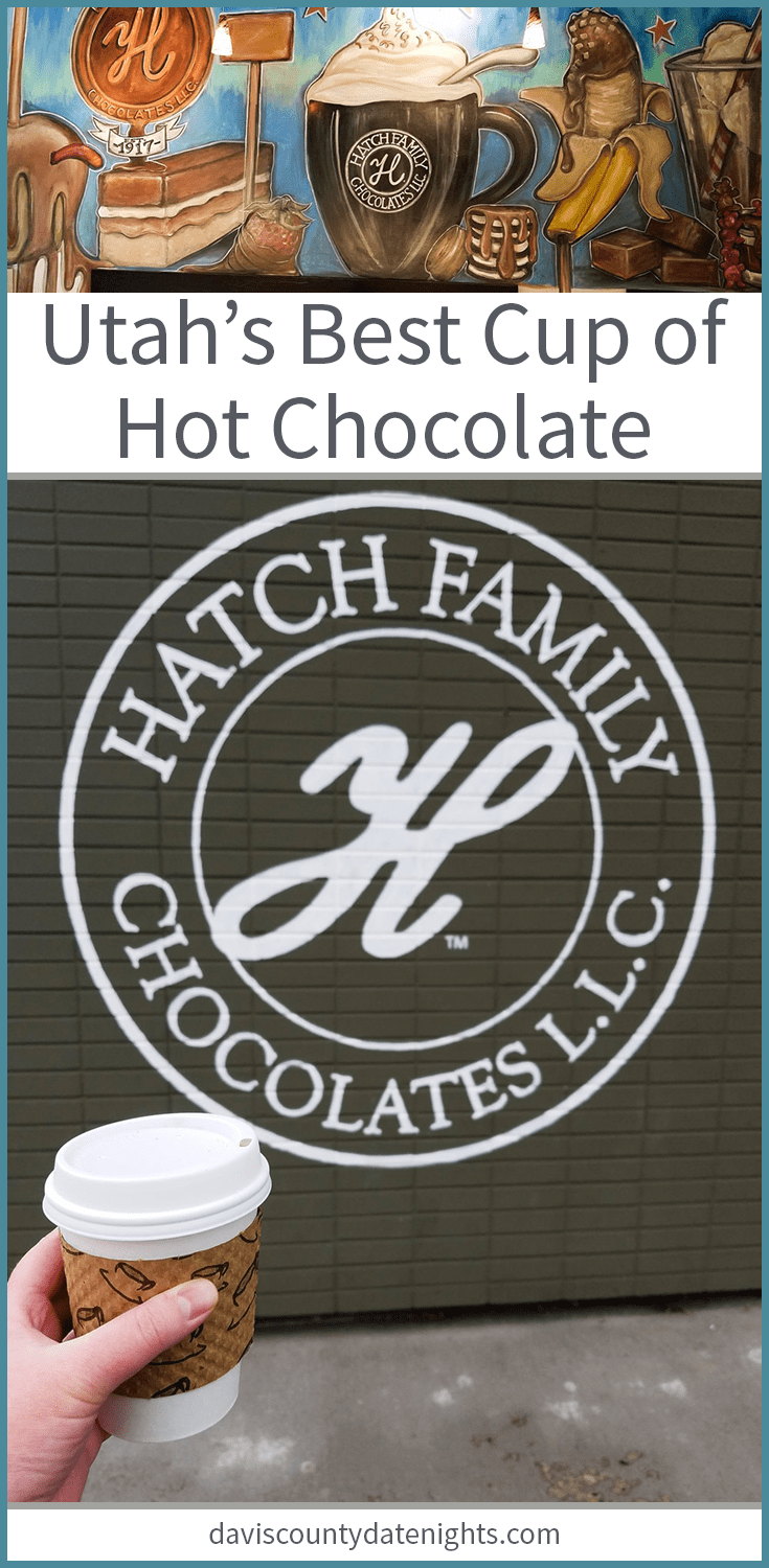 The best cup of hot chocolate you'll ever have can be found in the Avenues of Salt Lake City, Utah