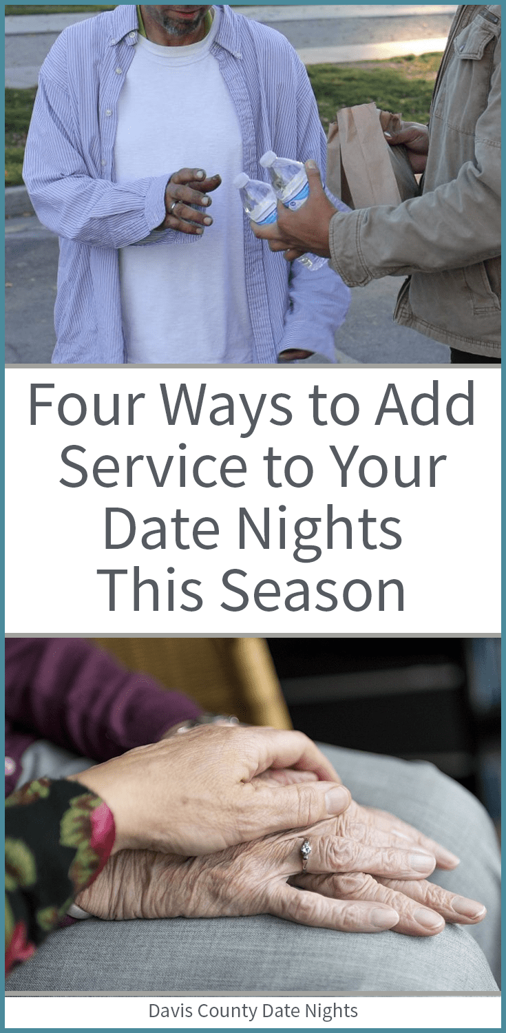 Great date ideas to serve others together this season.