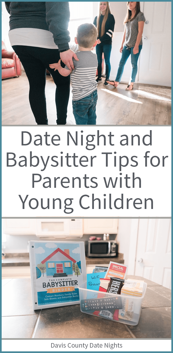 Tips for parents with young children who want to make date night a priority!