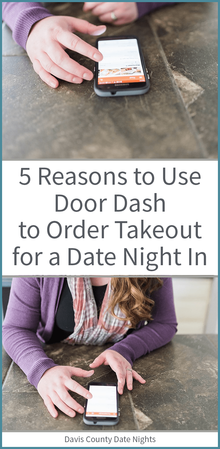 Why we order from Door Dash for date night at home