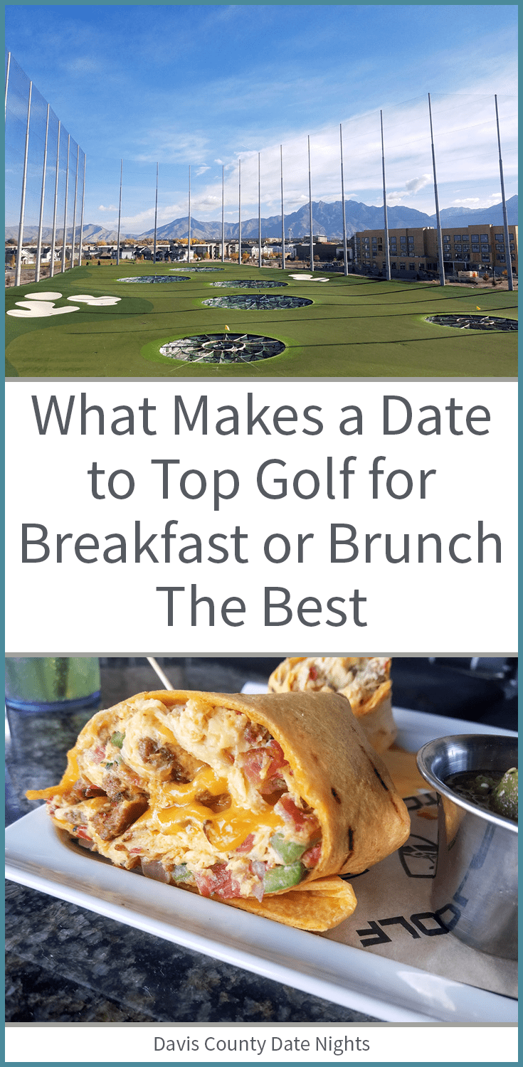 Why we love going on a date to Top Golf at Brunch time
