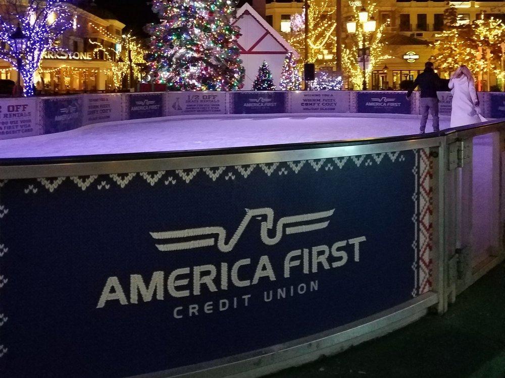 ice skating at station park