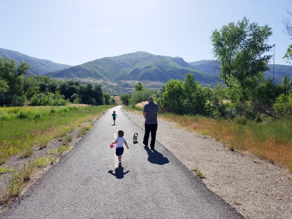 legacy trail davis county, utah
