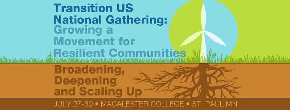 National Gathering Website Banner