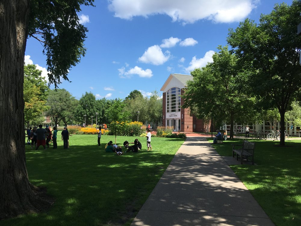 One of the greatest things about the National Gathering was that, every day, we got to savor the beauty of Macalester College's campus and the perfect late July weather. Photo by Nils Palsson.