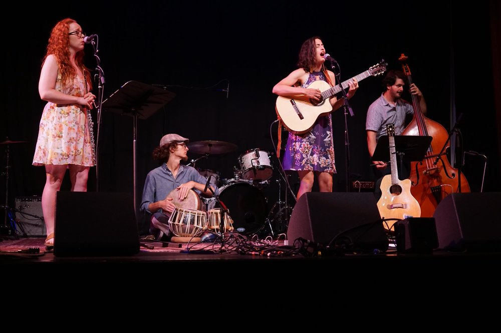 Shosha Wolf (Leah's band) at Old Town School of Folk Music Square Roots Festival (2018)