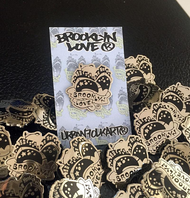 Brooklyn love pin jpg