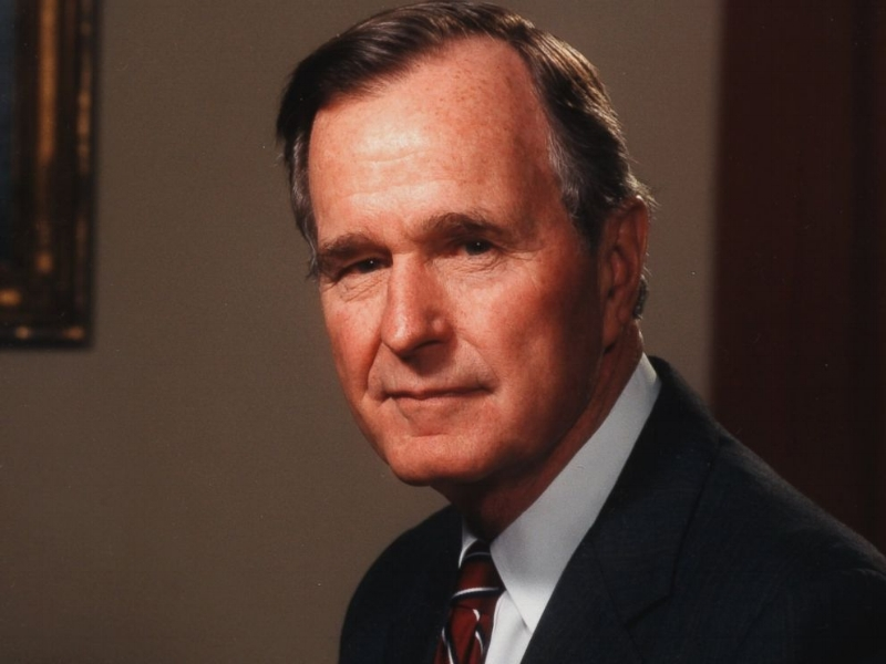 George H. W. Bush  the first Byronic President