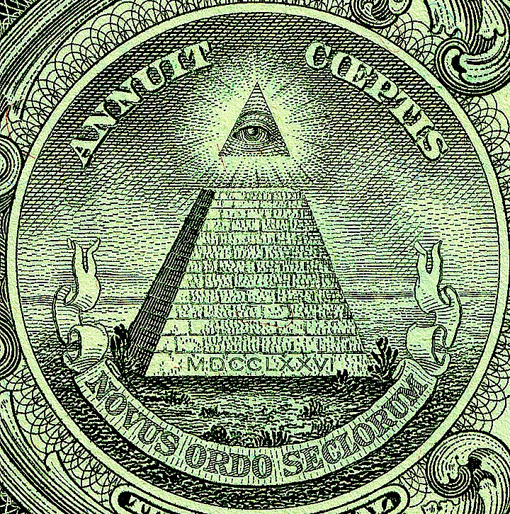 The Illuminati had to sell their famous trademark to U.S Government a subsidiary of the The Gentlemen of Utmost Fortune
