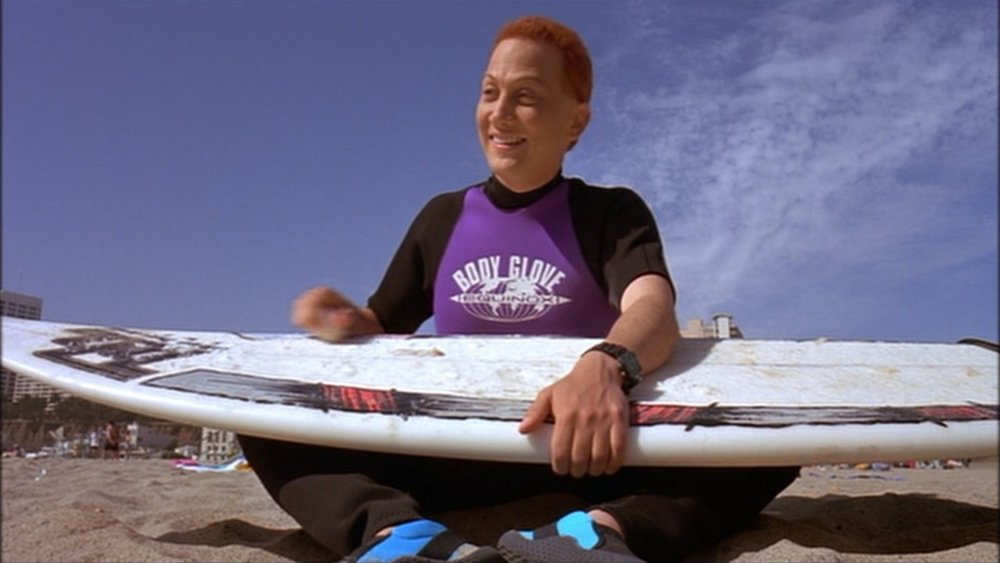 Rob Schneider in the award wining surf ninjas